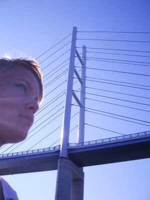 Längste Brücke Deutschlands: die neue Verbindung von Stralsund nach Rügen, Mecklenburg-Vorpommern