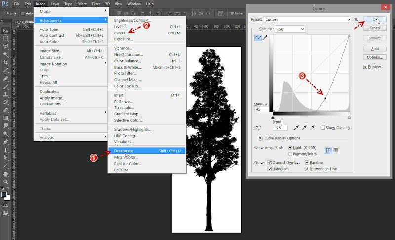 การกำหนดค่า Material ของต้นไม้แบบ 2D ให้มีความโปร่งใส Vraytree09