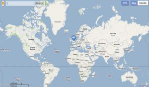 Google Maps for Blackberry Playbook