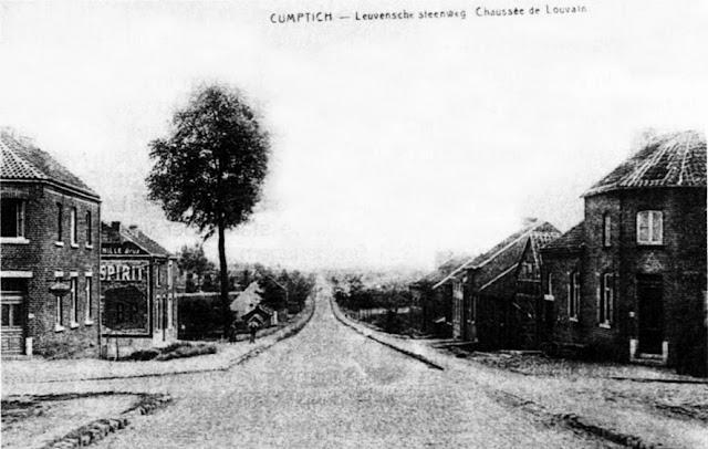 Figuur 5: De Leuvensesteenweg voor 1945.