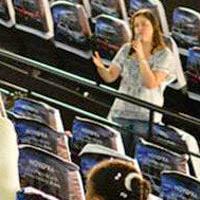 Amanda Aouad no FICI 2014 - O Pequeno Jornalista