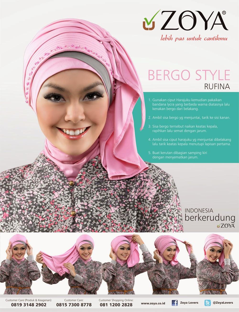Model Jilbab Segi Empat Tutorial Hijab Pesta By ...