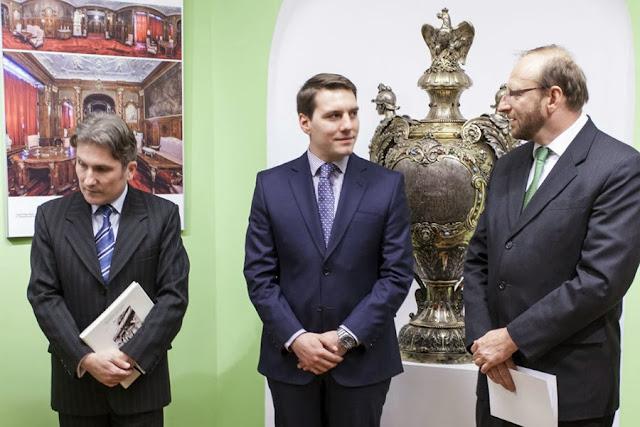 Vernisajul Expozitiei Karel Liman la Castelul Peles