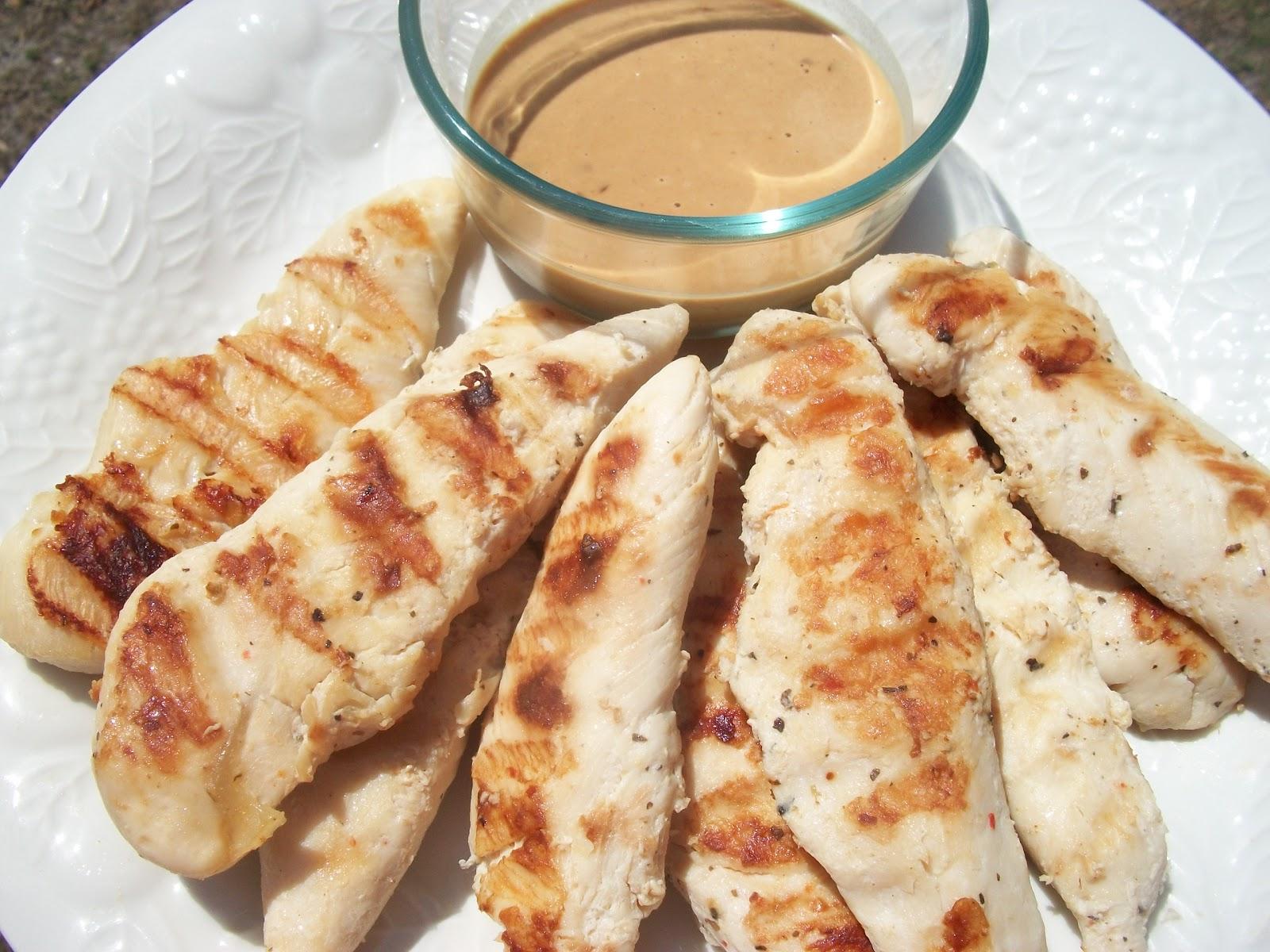 Grilled Chicken With Peanut Sauce Sandy 39 S Kitchen