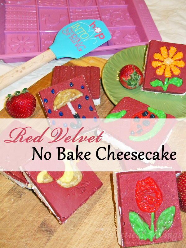 Red Velvet No Bake Cheesecake - Practical Savings