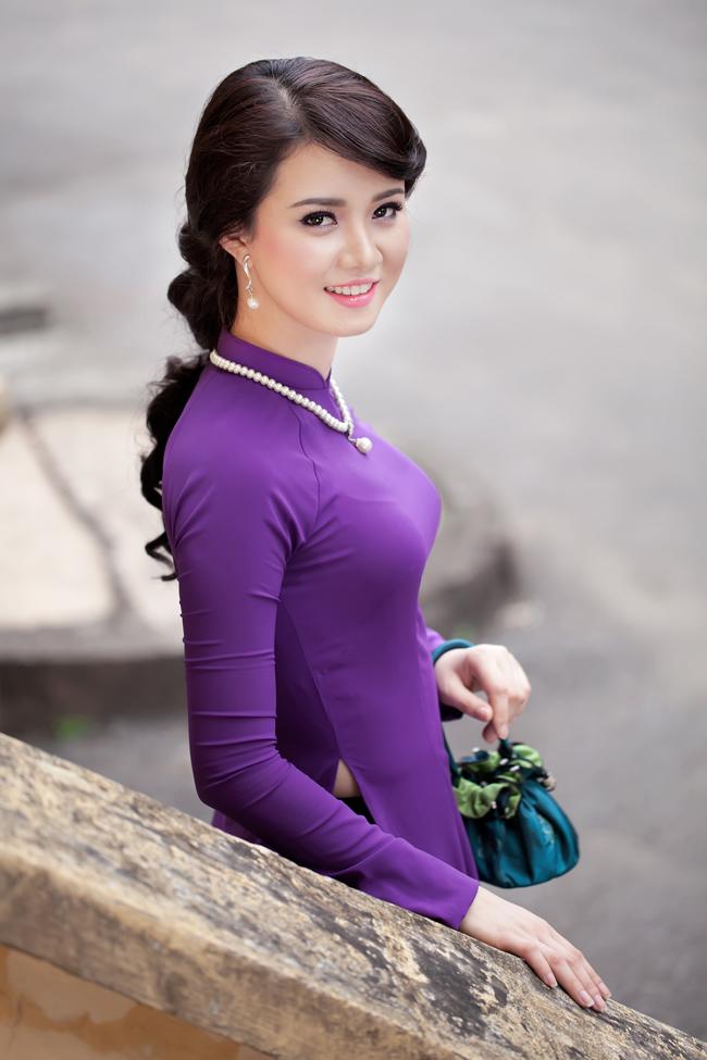 Ảnh đẹp phúc hậu của cô gái xứ Huế