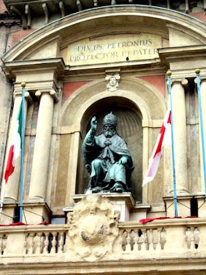 Piazza Maggiore in Bologna Italy