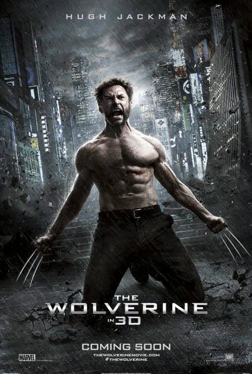 Poster Of English Movie The Wolverine (2013) Free Download Full New Hollywood Movie Watch Online At Alldownloads4u.Com