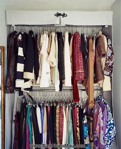 Thiết kế tủ quần áo: Một số thủ thuật giúp tăng diện tích để quần áo-7
