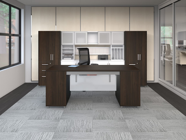 Mayline Office Furniture e5 Benching Workstations