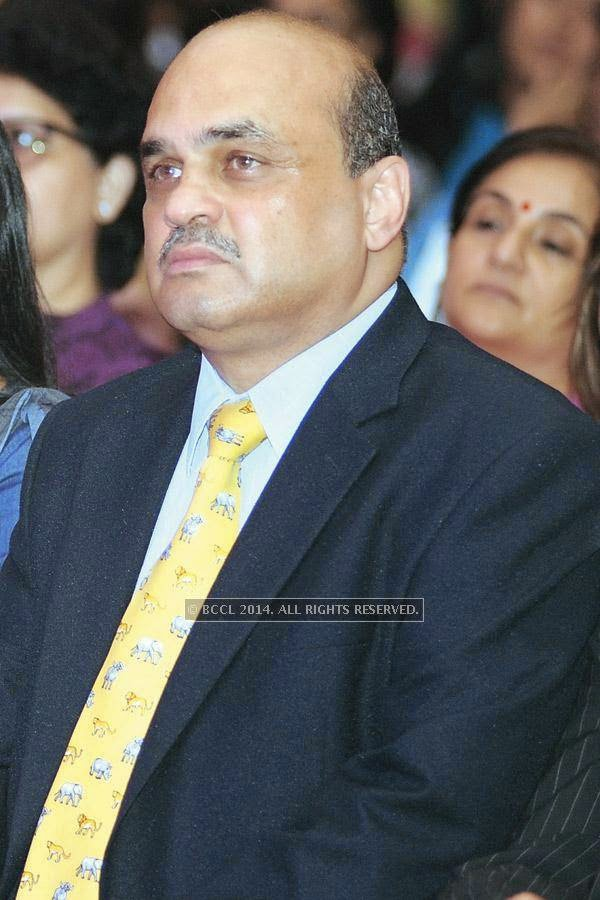 Anand Koppiker during a Cancer campaign, held at JW Marriott, in Pune.