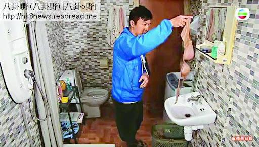 嘉樂單手洗bra,後來才發現可用機洗。