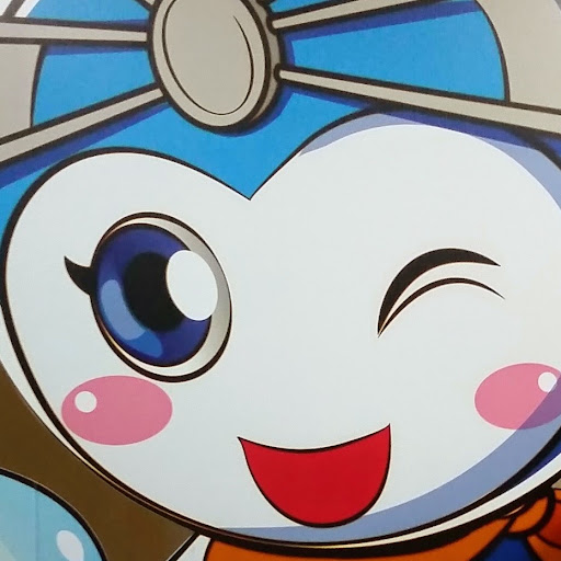 Thailand up close- cartoon character on a public service message