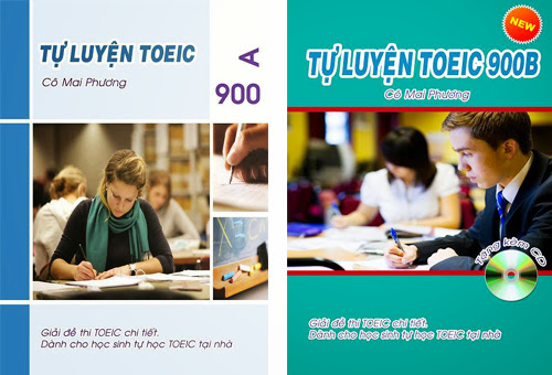 Bộ DVD và sách tự luyện thi TOEIC 900 do cô Mai Phương biên soạn