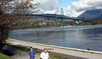 die Lions Gate Bridge in Vancouver