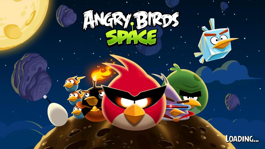 Angry Birds Space  เกมส์นกหลากสีปะทะหมูเขียว ตะลุยอวกาศ | โหลดเกมส์แอนดรยอด์ฟรี