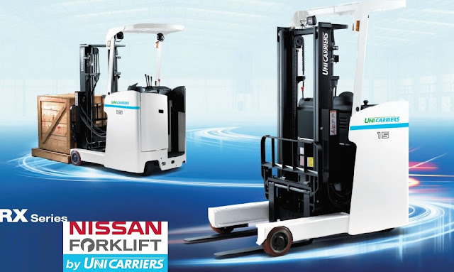 Nissan reach truck by Unicarriers Japan