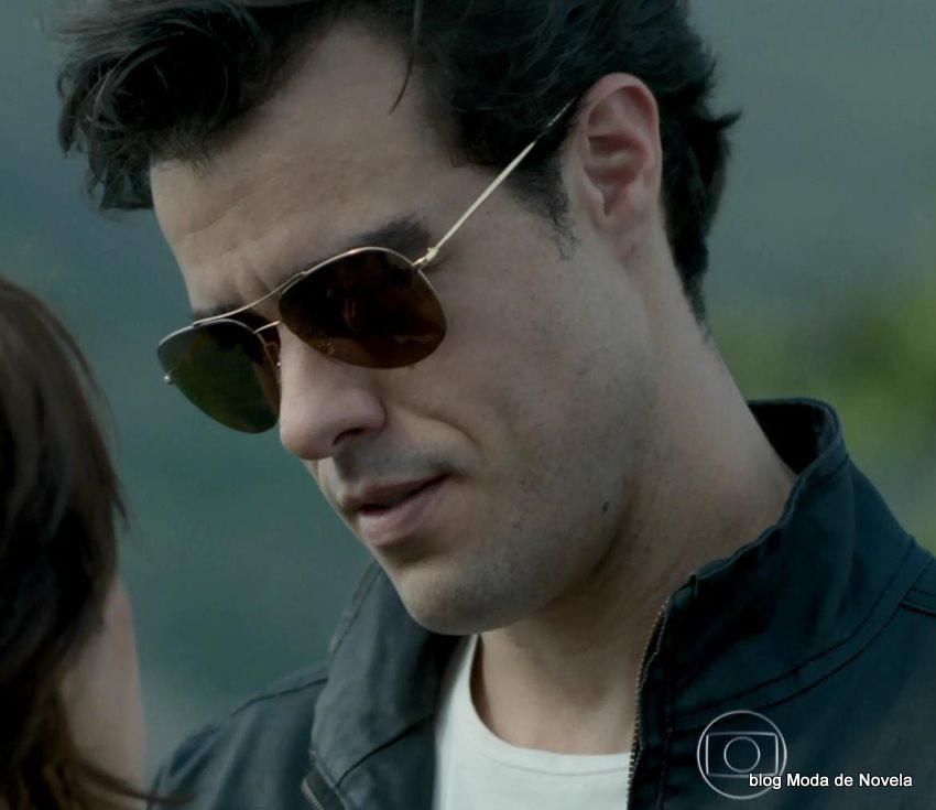 moda da novela Império, óculos do Enrico dia 30 de setembro