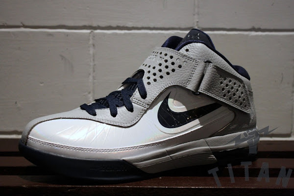 Actual Photos of Nike Air Max Soldier V 5 White amp Navy