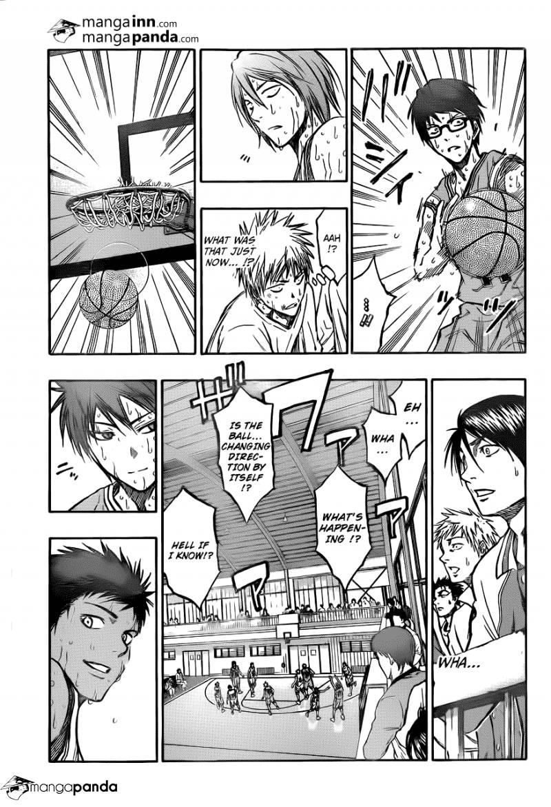 Kuroko no Basket Manga Chapter 209 - Image 17