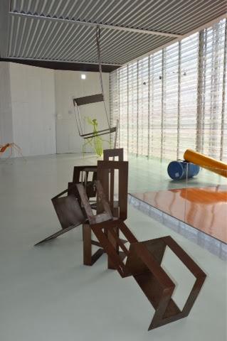 sillas de diseo en acero corten