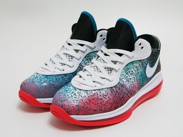 LeBron 8 V2 Low 8220Miami Nights8221 Available Only at NikeTown Miami