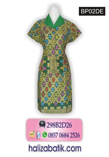 motif batik pekalongan, model dress batik, koleksi baju batik wanita