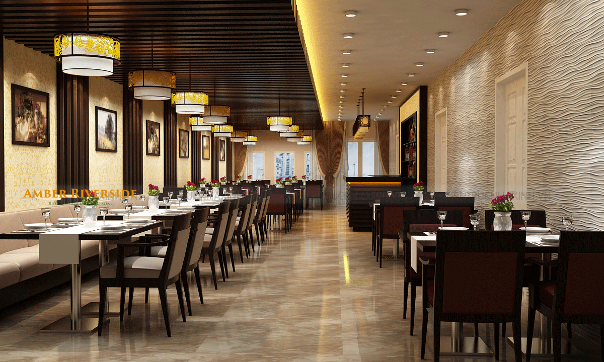 Nhà hàng dự án Amber Minh Khai