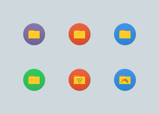 Numix Circle Folders