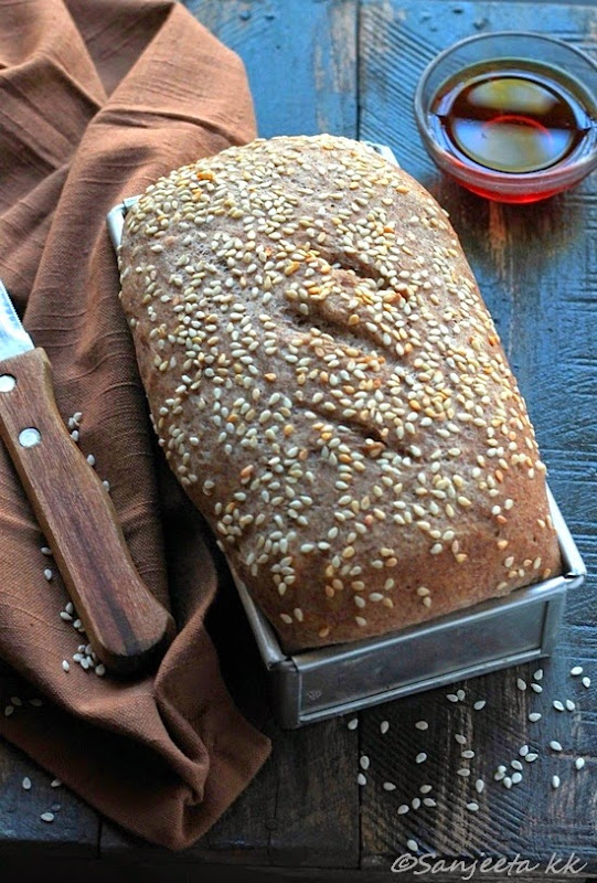 Recipes | Finger Millet Bread and Oatmeal Slices