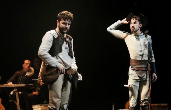 Juan Cañas, Daniel Rovalher e Íñigo Echevarría