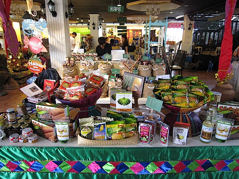 food products for sale at The Manila Collectible Co.