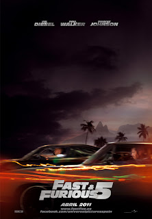 Póster de Fast Five (Fast and Furious 5)