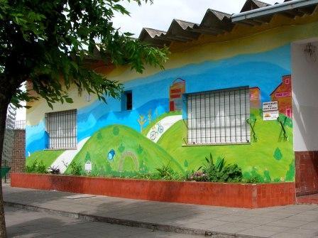 Irene treuer mural jardin de infantes nro 911 for Jardin 911