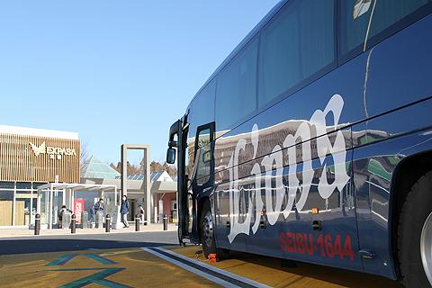 西武観光バス「Lions Express」 1644 足柄SA休憩中 その3