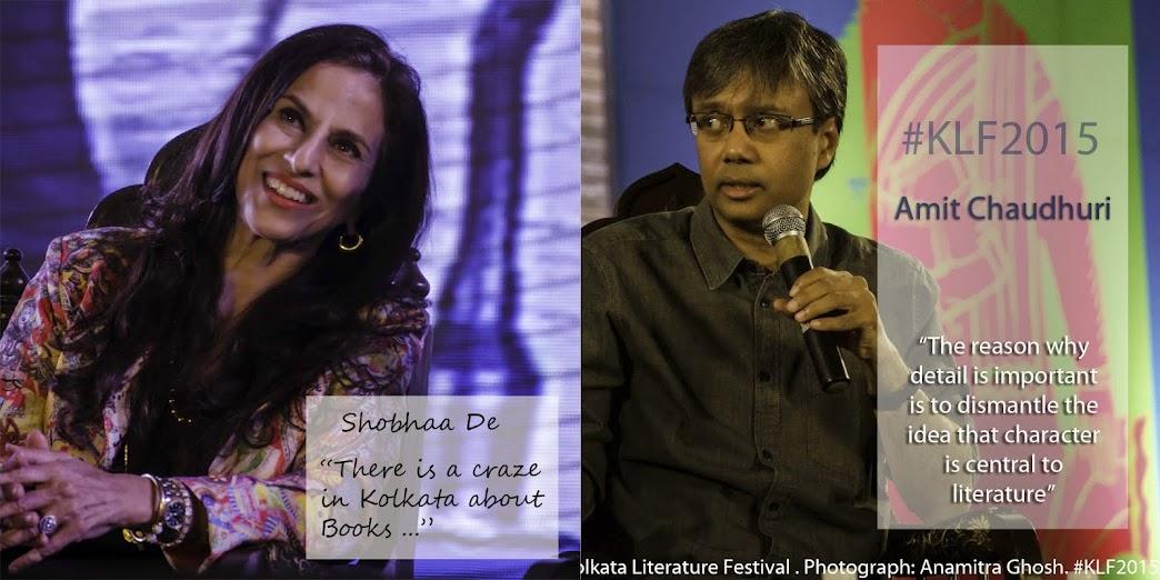 Shobhaa De, Kolkata Literature Festival
