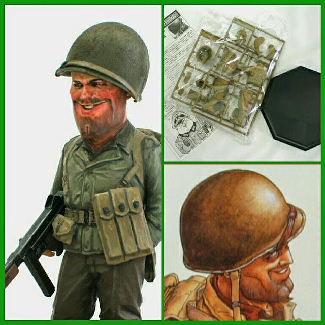 U.S. Army Infantryman Maqueta