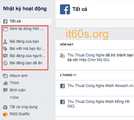 Cách kiểm soát các hoạt động trên facebook hiệu quả 3