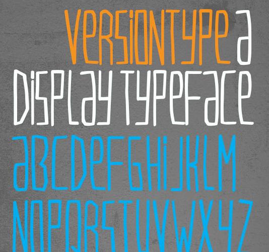 VersionType Free Fonts