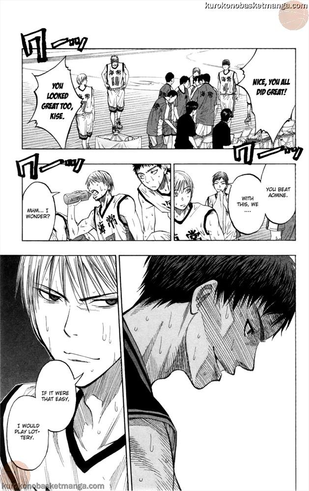 Kuroko no Basket Manga Chapter 65 - Image 19