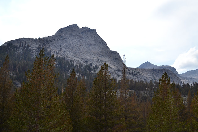cliffs above Big Arroyo/High Sierra Trail intersection