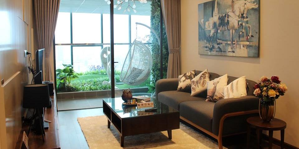 Thiết kế căn hộ Red River View Lạc Trung