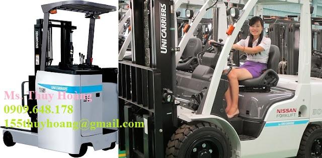 Xe nâng Reach Truck Unicarriers 1 - 3 tấn