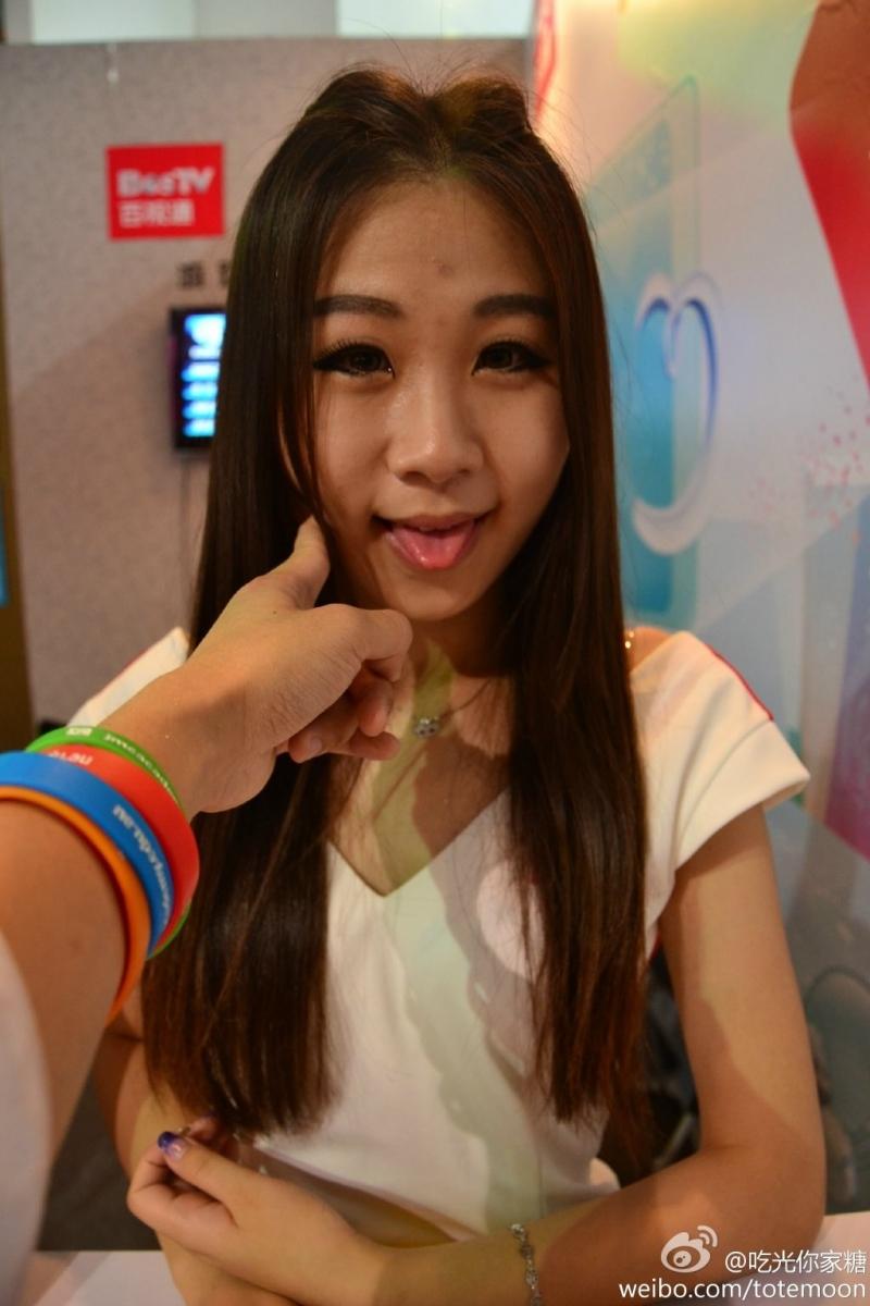 Sờ tận tay các showgirl tại ChinaJoy 2013 - Ảnh 3