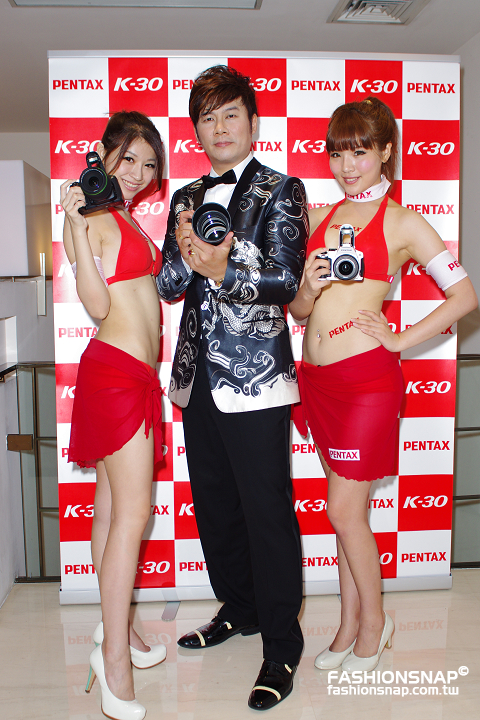 2012.07.19 戰神發威 PENTAX 全天候防水防塵耐寒相機K-30全新發表
