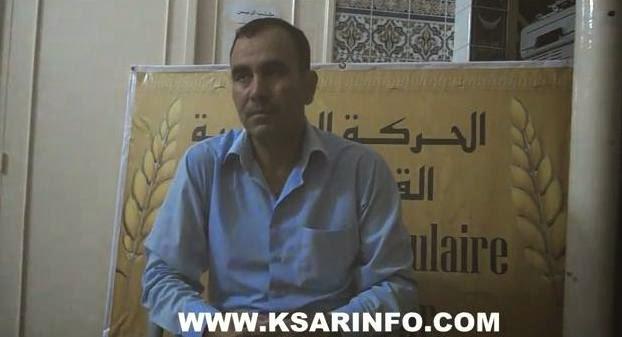 في حوار مع القصر أنفو سليمان عربوش يصرح: زكينا الحاج السيمو بعد أن رفضته كل الأحزاب