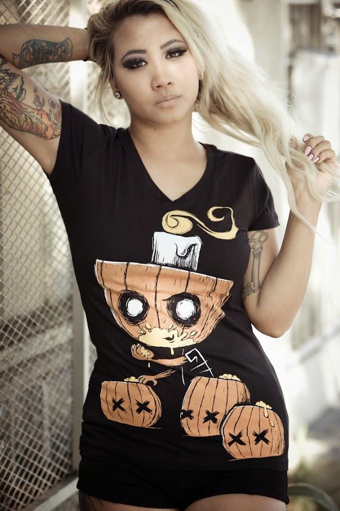 pumpkin shirt, vegetarian horror, vegan horror shirt, vegan shirt, halloween shirt, halloween pumpkin tee