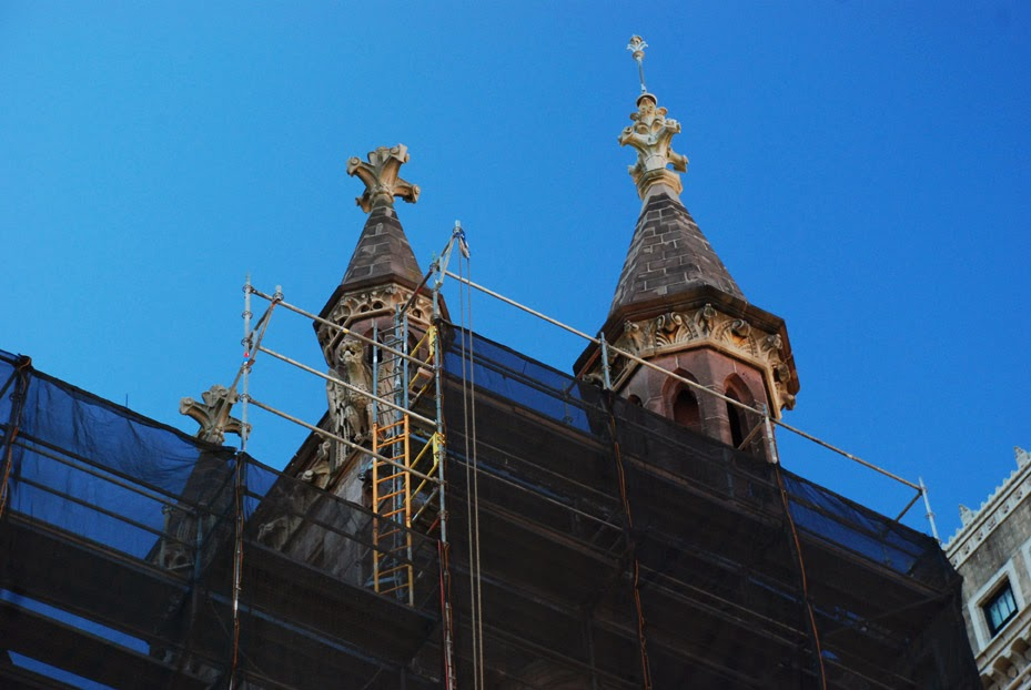 scaffold, scaffolding, rental, church, netting, masonry, facade, PA, DE, MD, DE, philadelphia, superior scaffold