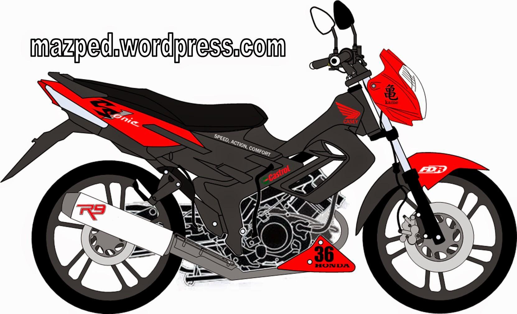 Honda Cs1 Modifikasi Satria Fu