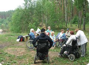 """Клуб инвалидов-колясочников """"Кристалл"""" отметил свою первую годовщину"""
